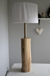 Lampa  natural wood 2